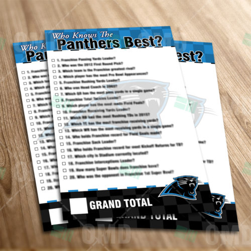 Carolina Panthers - Trivia Game - Product 1