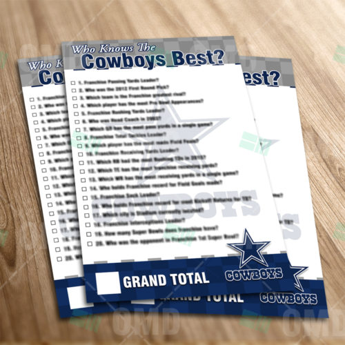 Dallas Cowboys - Trivia Game - Product 1