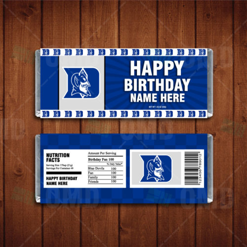 Duke Blue Devils - Candy Bar 1 - Product 1