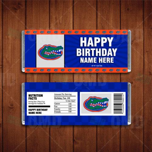 Florida Gators - Candy Bar 1 - Product 1