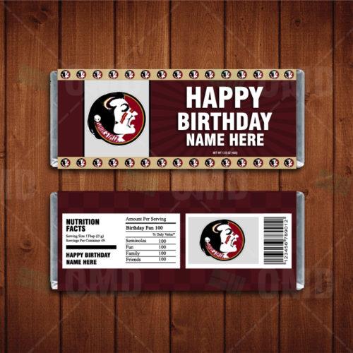 Florida State Seminoles - Candy Bar 1 - Product 1