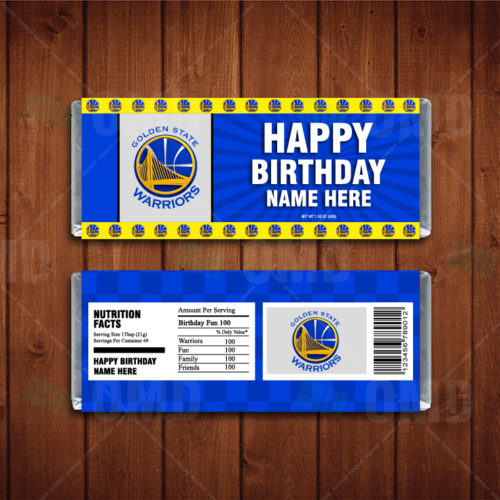 Golden State Warriors - Candy Bar 1 - Product 1