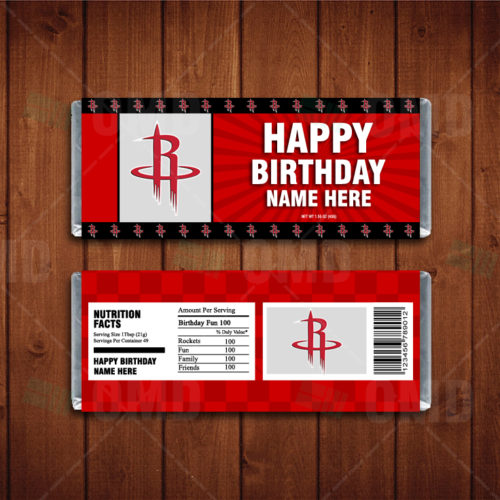 Houston Rockets - Candy Bar 1 - Product 1