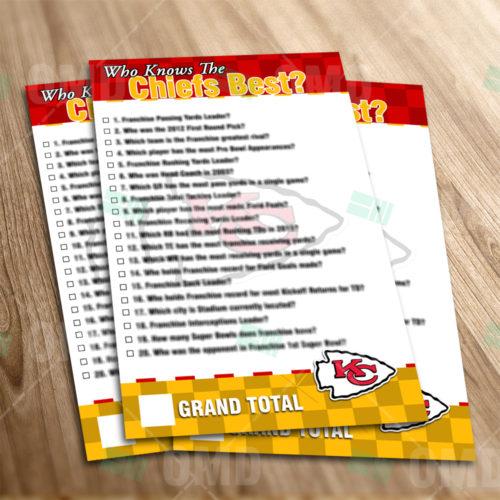 Kansas City Chiefs - Trivia Game - Product 1