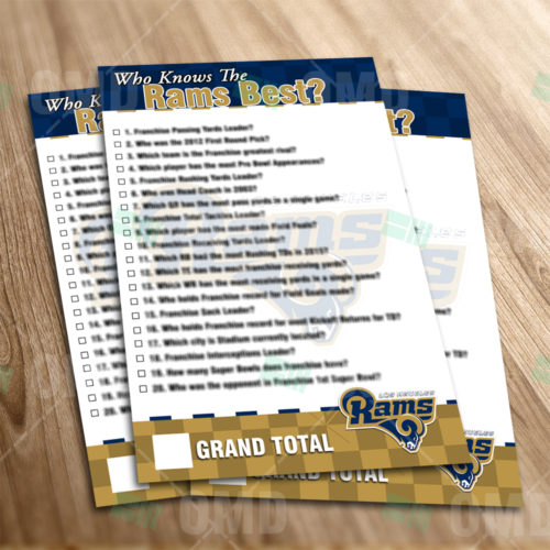 Los Angeles Rams - Trivia Game - Product 1