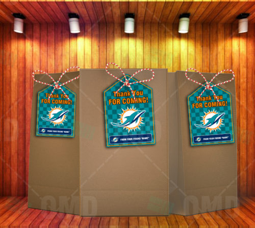 Miami Dolphins - Bag Tag - Product 1