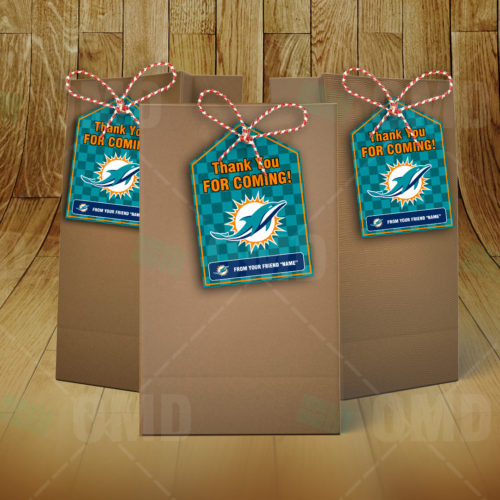 Miami Dolphins - Bag Tag - Product 2