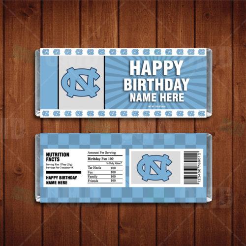 North Carolina Tar Heels - Candy Bar 1 - Product 1