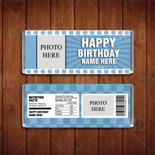 North Carolina Tar Heels - Candy Bar 1 - Product 2