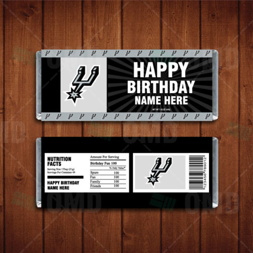 San Antonio Spurs - Candy Bar 1 - Product 1