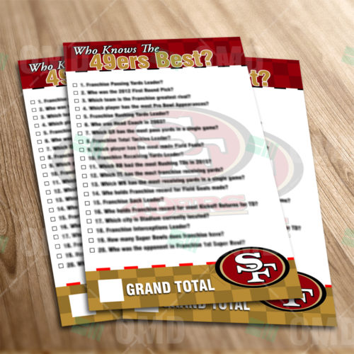 San Francisco 49ers - Trivia Game - Product 1