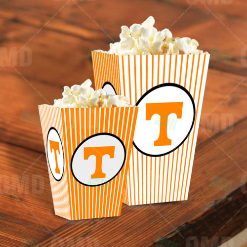 Tennessee Volunteers - Popcorn Box - Product 1