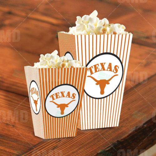 Texas Longhorns - Popcorn Box - Product 1