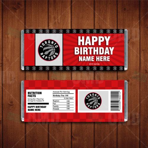 Toronto Raptors - Candy Bar 1 - Product 1-1