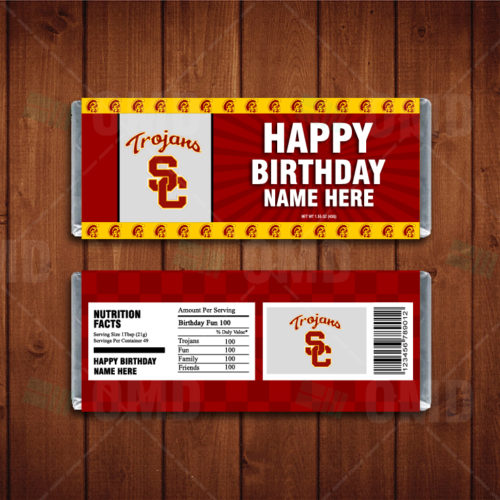 USC Trojans - Candy Bar 1 - Product 1