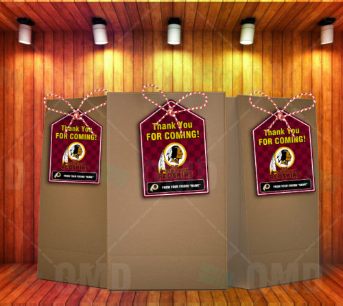 Washington Redskins - Bag Tag - Product 1