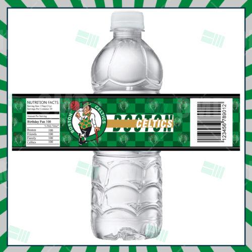 Boston Celtics - Bottle Label - Product 1