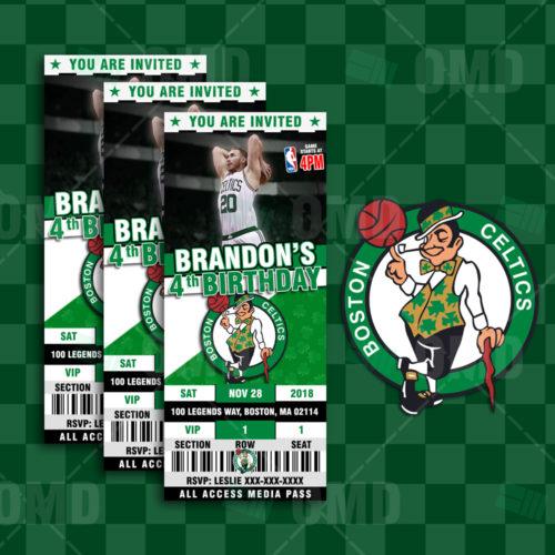 Boston Celtics - Invite 3 - Product 1