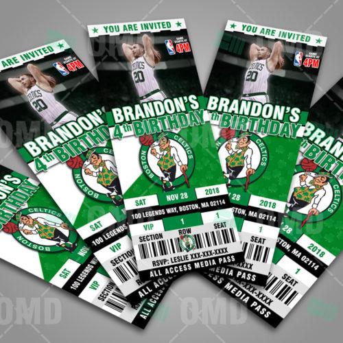 Boston Celtics - Invite 3 - Product 3