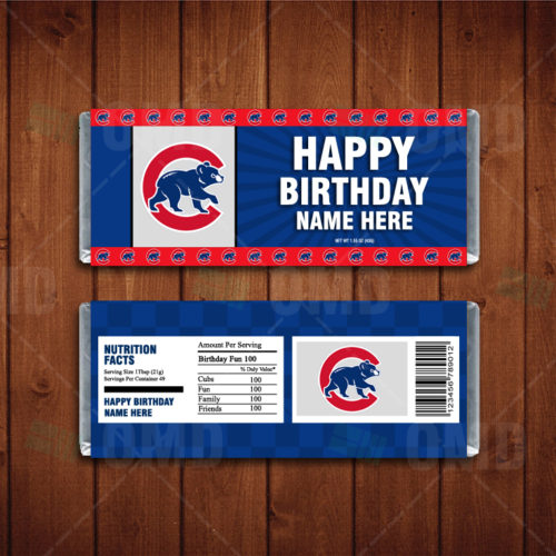 Chicago Cubs - Candy Bar 1 - Product 1