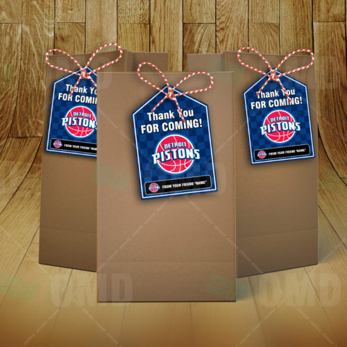 Detroit Pistons - Bag Tag - Product 2