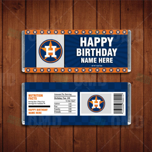 Houston Astros - Candy Bar 1 - Product 1