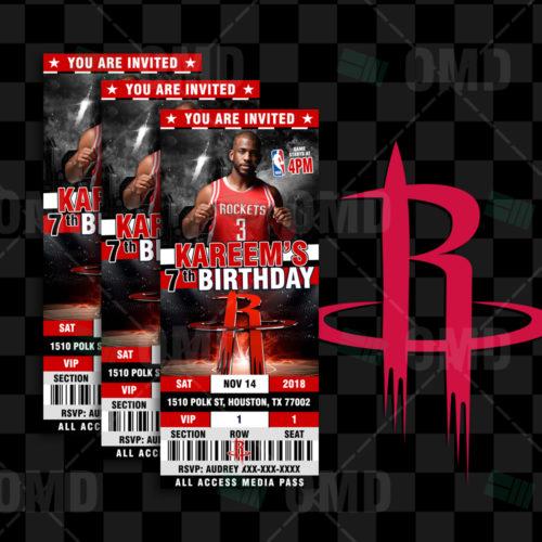Houston Rockets - Invite 2 - Product 1