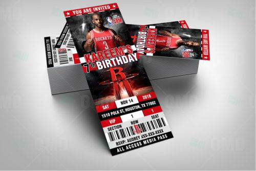 Houston Rockets - Invite 2 - Product 2