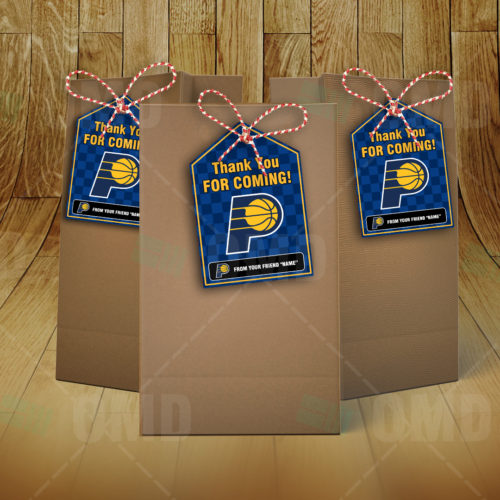 Indiana Pacers - Bag Tag - Product 2