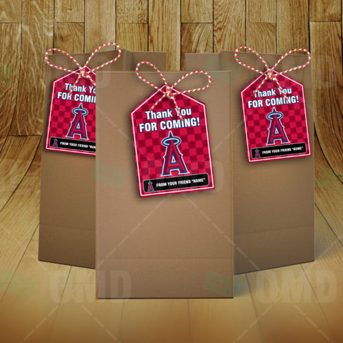 Los Angeles Angels - Bag Tag - Product 3