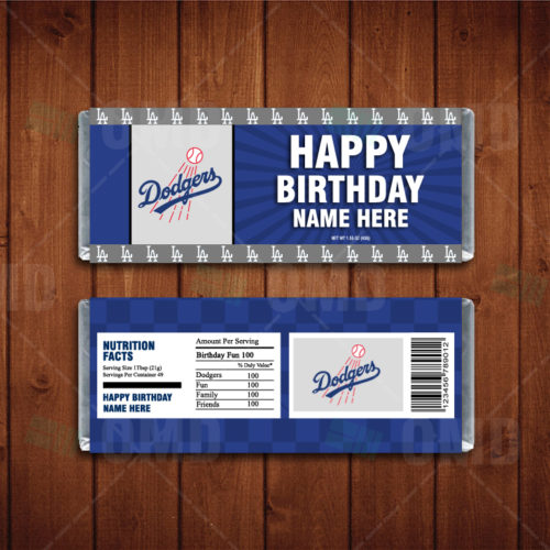 Los Angeles Dodgers - Candy Bar 1 - Product 1