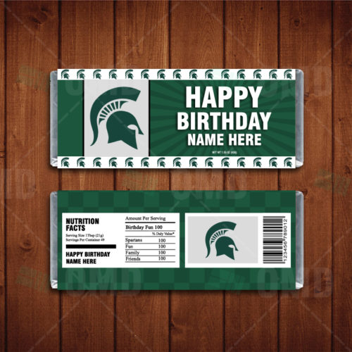Michigan State Spartans - Candy Bar 1 - Product 1