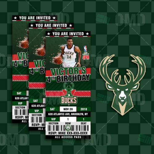 Milwaukee Bucks - Invite 2 - Product 1