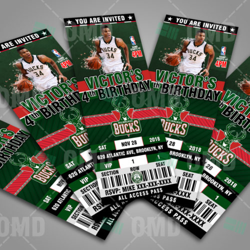 Milwaukee Bucks - Invite 2 - Product 3