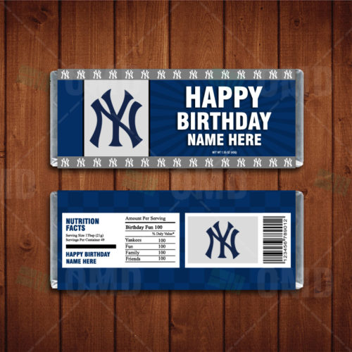 New York Yankees - Candy Bar 1 - Product 1