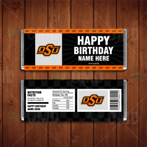 Oklahoma State Cowboys - Candy Bar 1 - Product 1