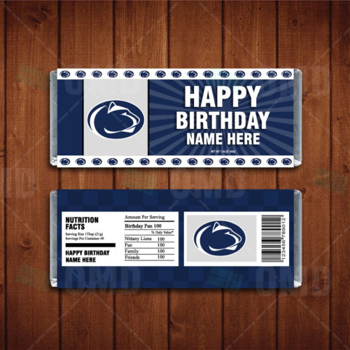 Penn State Nittany Lions - Candy Bar 1 - Product 1
