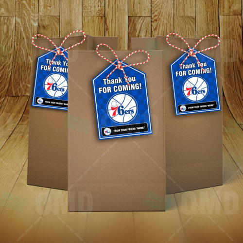 Philadelphia 76ers - Bag Tag - Product 2