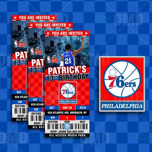 Philadelphia 76ers - Invite 3 - Product 1