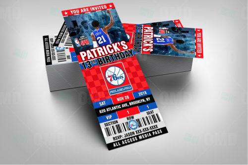 Philadelphia 76ers - Invite 3 - Product 2