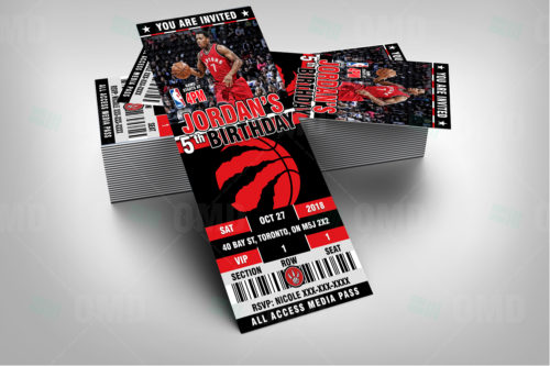 Toronto Raptors - Invite 2 - Product 2