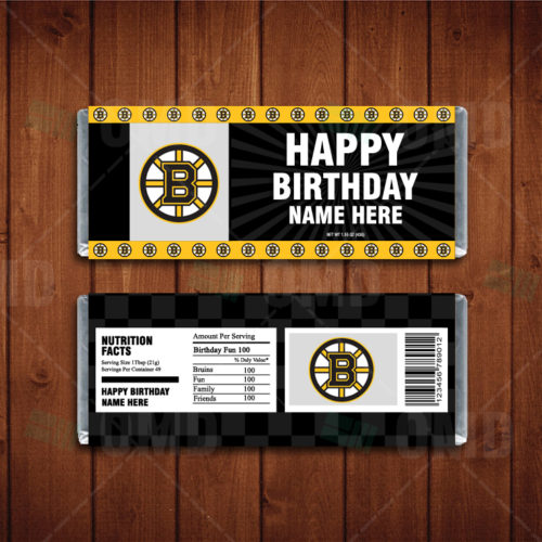 Boston Bruins - Candy Bar 1 - Product 1