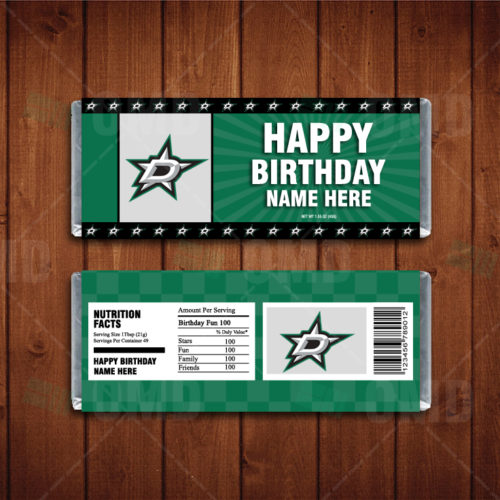 Dallas Stars - Candy Bar 1 - Product 1