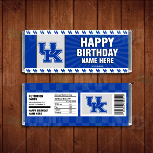 Kentucky Wildcats - Candy Bar 1 - Product 1