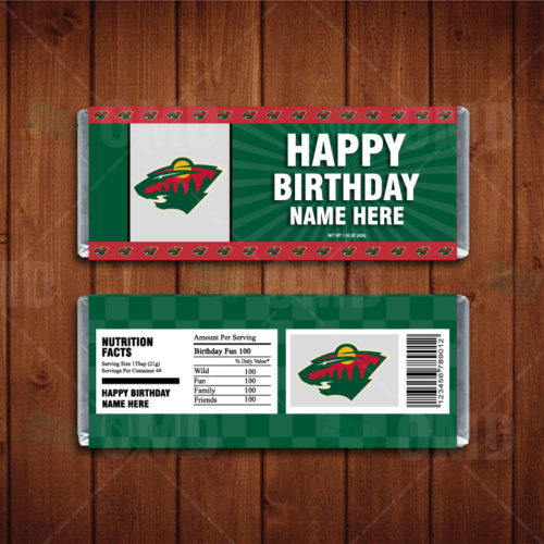 Minnesota Wild - Candy Bar 1 - Product 1