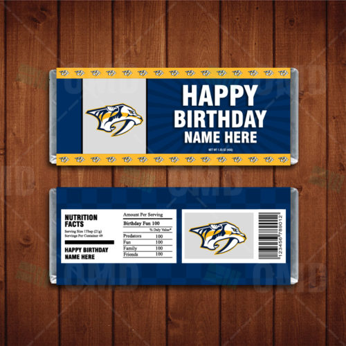 Nashville Predators - Candy Bar 1 - Product 1