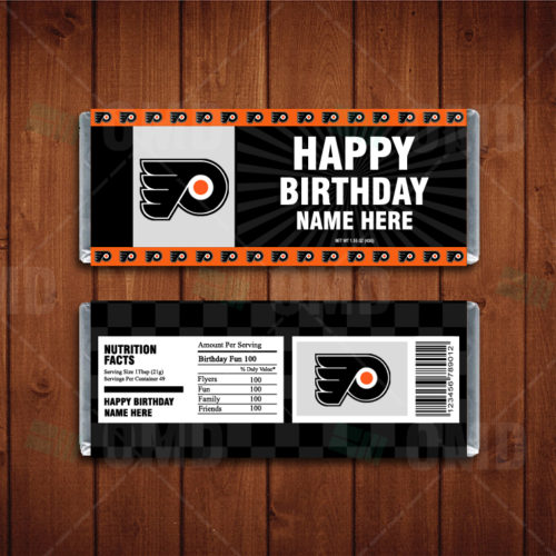 Philadelphia Flyers - Candy Bar 1 - Product 1