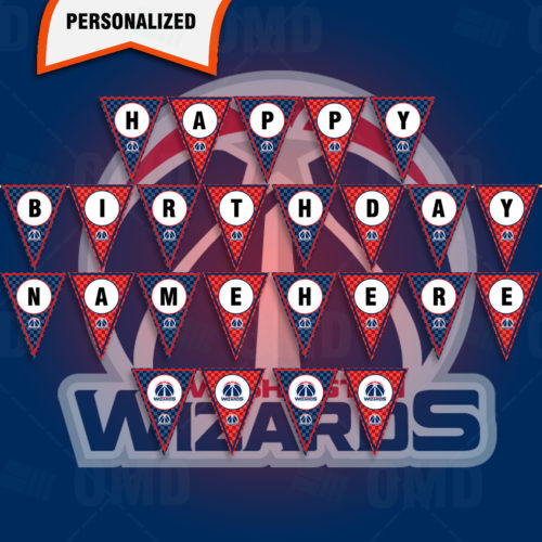 Washington Wizards - Banner Design - Product 1