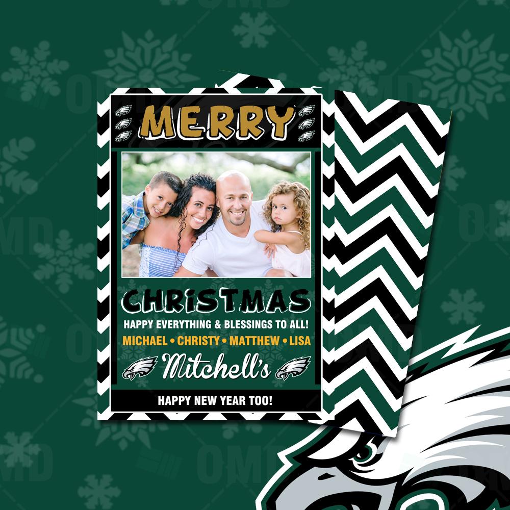 Philadelphia Eagles - Christmas Card - Product 1