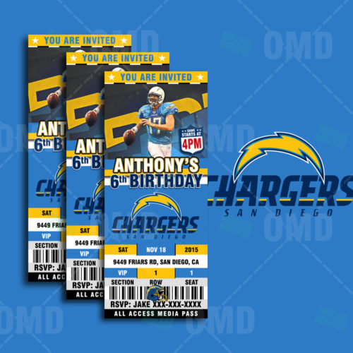 San Diego Chargers Banner: San Diego Chargers Pennant Banner